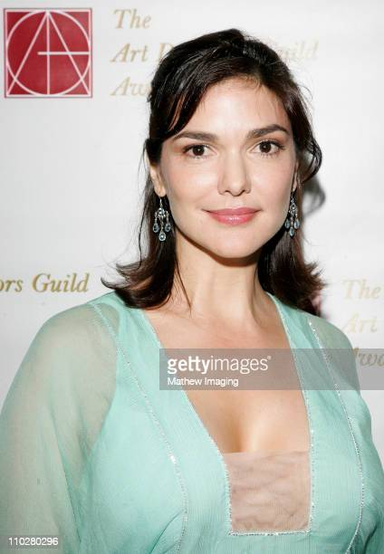 Laura Harring during 10th Annual Art Directors Guild Awards Arrivals at Beverly Hilton Hotel in Beverly Hills California United States