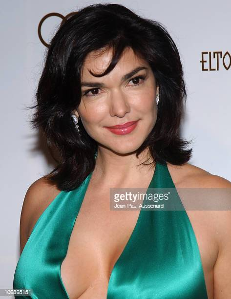 Laura Harring during 14th Annual Elton John AIDS Foundation Oscar Party Cohosted by Audi Chopard and VH1 Arrivals at Pacific Design Center in...