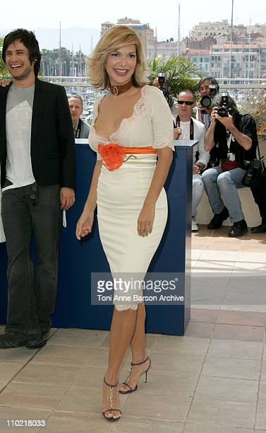 Laura Harring during 2005 Cannes Film Festival 'The King' Photocall in Cannes France