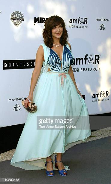 Laura Harring during amfAR's 'Cinema Against AIDS Cannes' Benefit Sponsored by Miramax and Quintessentially Arrivals at Moulin De Mougins in Cannes...