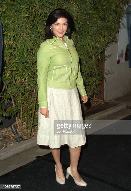 Laura Harring during Brandon Davis and Replay Celebrate The Los Angeles Replay Store Opening and Launch of The Brandon Davis Jean April 24 2006 at...