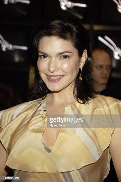 Laura Harring wearing Fendi during 'Huff' Season 2 Premiere New York Preview Screening at The Museum of Television and Radio in New York City New...