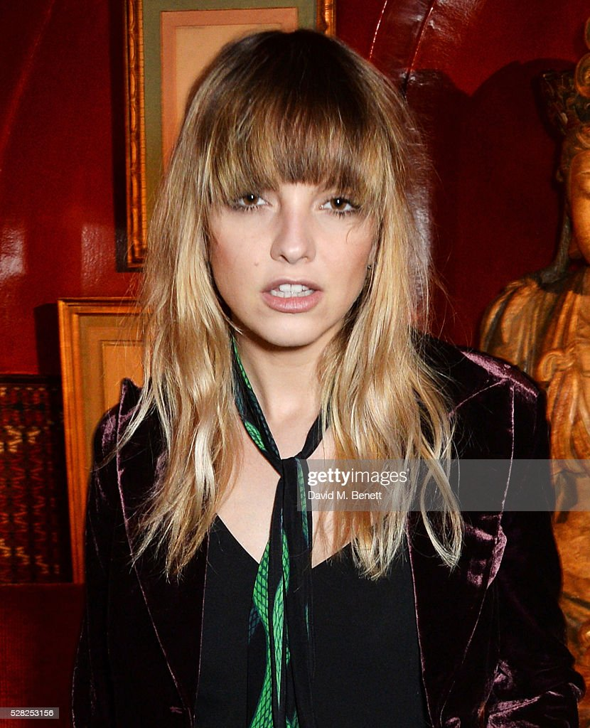 Laura Hayden attends an intimate performance by All Saints at Annabel's on May 4, 2016 in London, England.