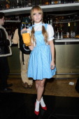 Laura Hayden attends the Hip Hop Haloween Pary at WYLD Bar on October 31 2012 in London England