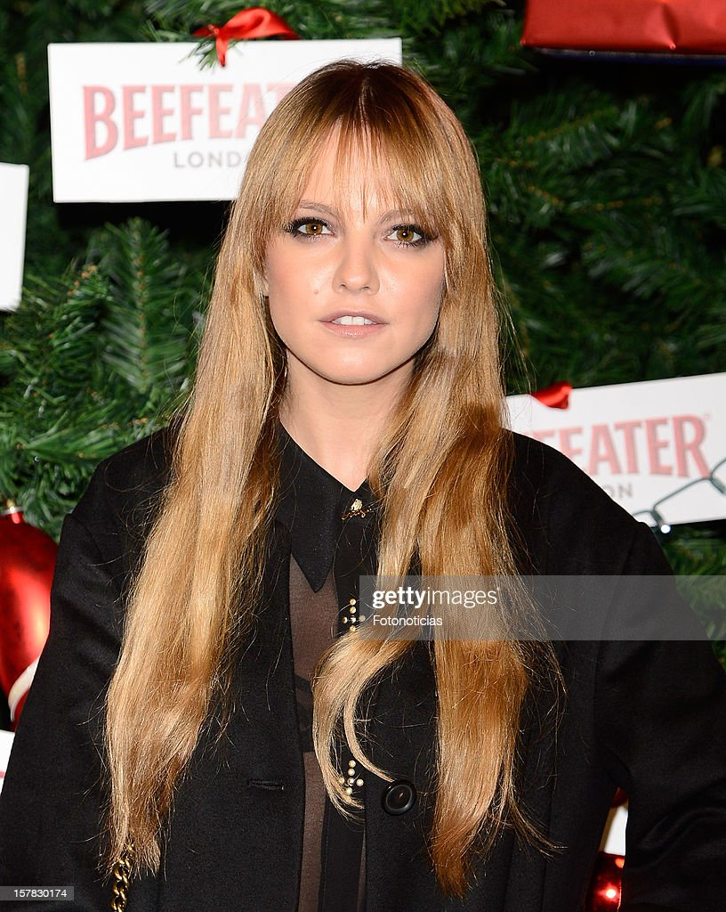 Laura Hayden attends the inauguration of Beefeater London Market at the Palacio de Cibeles on December 6, 2012 in Madrid, Spain.