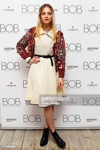 Laura Hayden attends the launch of Dawn O'Porter's BOB pop up boutique at Seven Dials with Caorunn Gin and anCnoc vinatage Whisky Vidal Sassoon and...