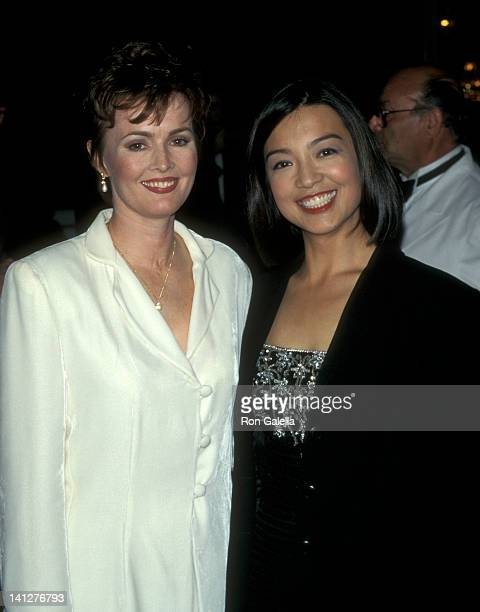 Laura Innes and MingNa at the 9th Annual Gloria Awards Plaza Hotel New York City