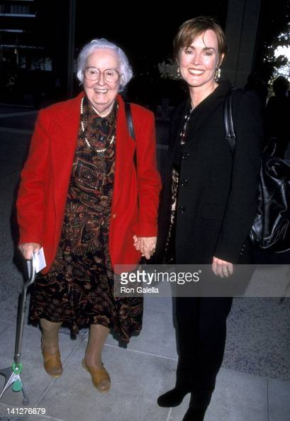 Laura Innes and mother Laurette Innes at the Opening Night of 'Chicago' Ahmanson Theatre at LA Music Center Los Angeles