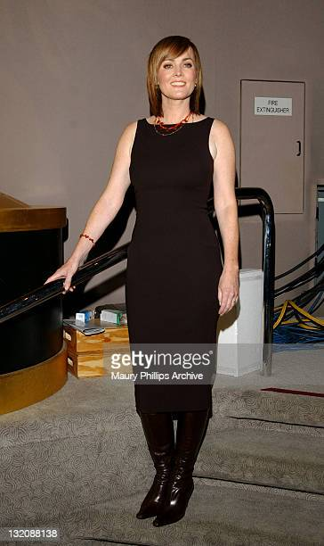 Laura Innes during The 54th Primetime Emmy Award Nominations Announcement at ATAS' Leonard H Goldenson Theatre in North Hollywood California United...