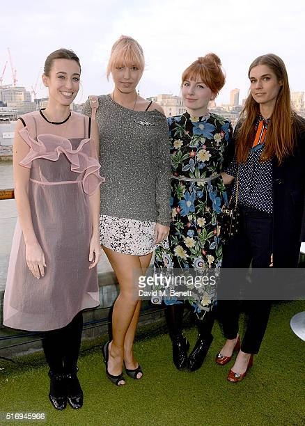 Laura Jackson Amber Le Bon Alice Levine and Sophie Hulme attend the Jackson Levine VIP Supperclub hosted by Laura Jackson and Alice Levine in aid of...