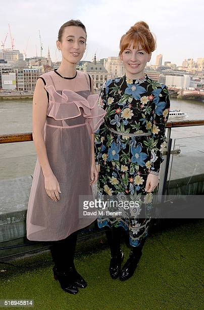 Laura Jackson and Alice Levine host the Jackson Levine VIP Supperclub in aid of Women For Women International at the Oxo Tower on March 22 2016 in...