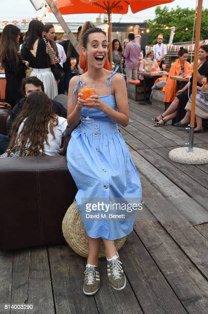 Laura Jackson attends the Aperol Spritz Social on July 13 2017 in London England
