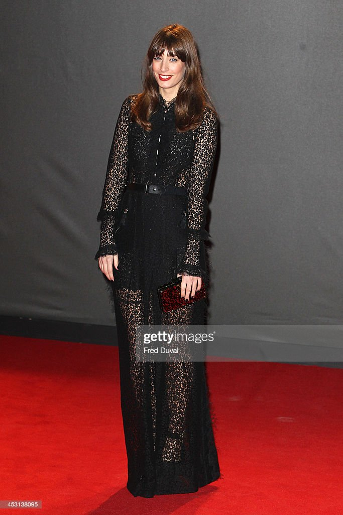 Laura Jackson attends the British Fashion Awards 2013 at London Coliseum on December 2, 2013 in London, England.