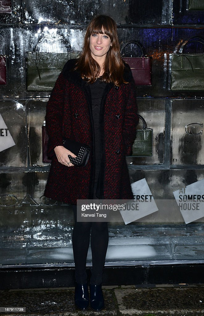 Laura Jackson attends the launch of Skate at Somerset House on November 13, 2013 in London, England.