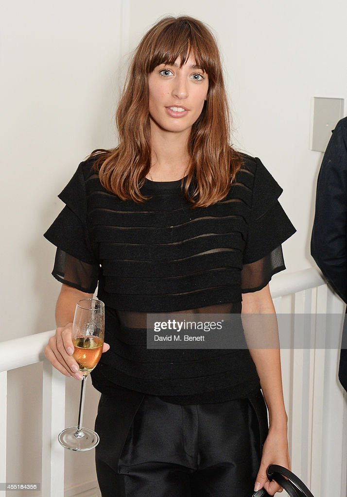 Laura Jackson attends the Whistles x GQ Style House Party on September 10 2014 in London England