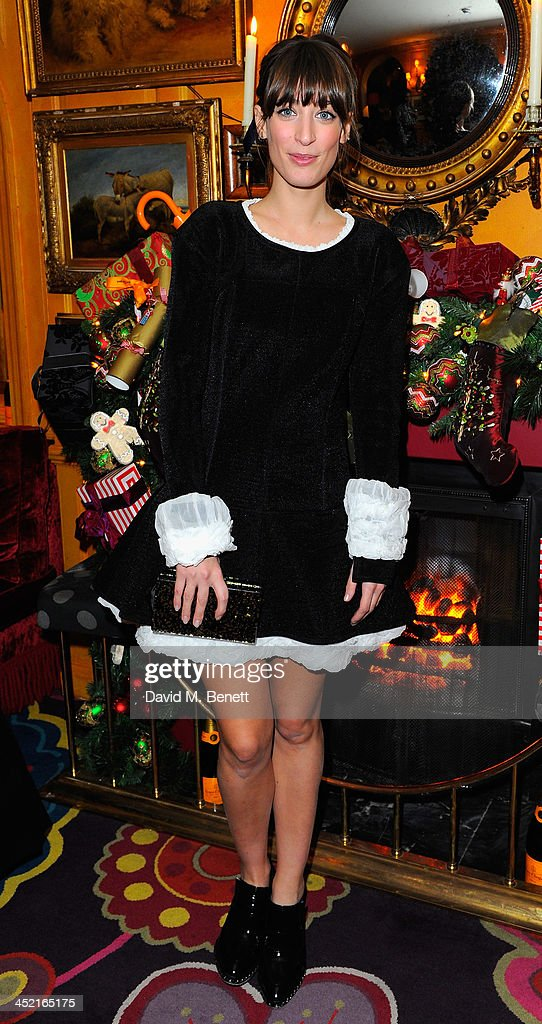 Laura Jackson attends Veuve Clicquot Style Party at Annabel's on November 26, 2013 in London, England.
