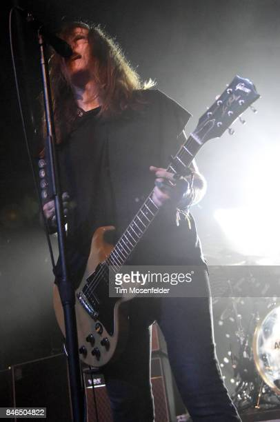 Laura Jane Grace of Against Me performs in support of the band's 'Shape Shift with Me' release at Ace of Spades on September 12 2017 in Sacramento...