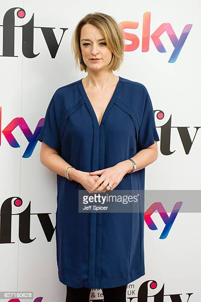 Laura Kuenssberg attends the Sky Women In Film TV Awards at London Hilton on December 2 2016 in London England