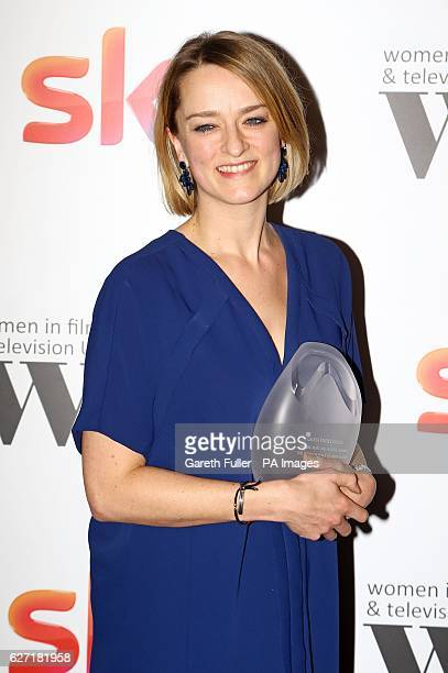 Laura Kuenssberg received the BBC News and factual award at the Women in Film amp TV Awards at the Hilton hotel in central London