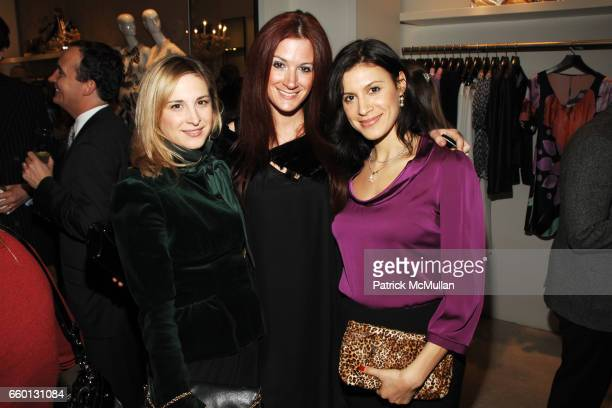 Laura Lachman Tiffany Koury and Tatiana Boncompagni attend RORY ELIE TAHARI Party for the 55th Annual Winter Antiques Show YOUNG COLLECTORS' NIGHT at...