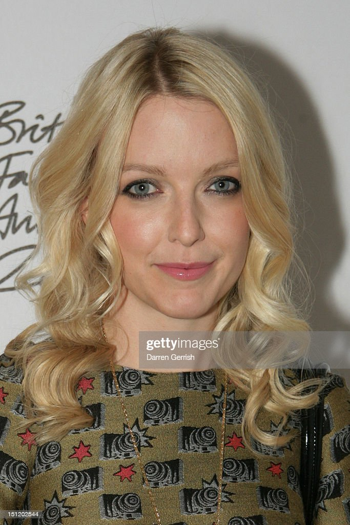 Laura Laverne attends the nominees party for The British Fashion Awards on September 3, 2012 in London, England.