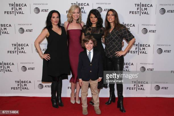 Laura Lee Botsacos Abby Wathen Peter Thompson Melonie Diaz and Haroula Rose attend Tribeca TV Pilot Season 'Lost and Found' showing during the 2017...