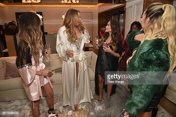 Laura Lee Mariah Carey Maryam Maquillage Cydnee Black and Arika Sato attend MAC Cosmetics Mariah Carey Beauty Icon Launch at Baccarat Hotel on...
