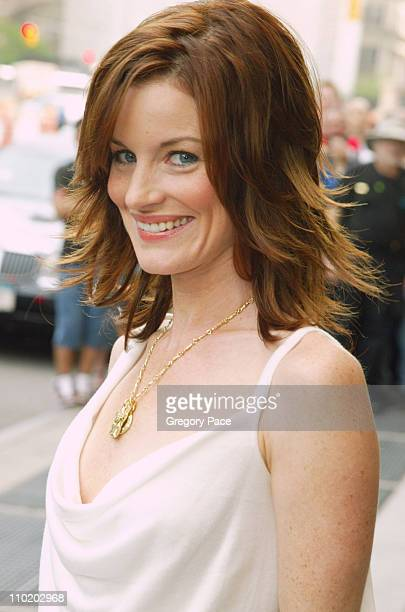 Laura Leighton during ABC 20042005 Upfront Arrivals at Midtown Hotel and Cipriani's in New York City New York United States