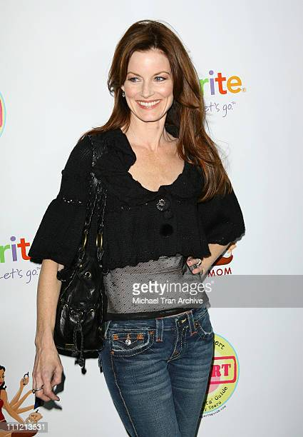 Laura Leighton during 'Modern Mom Mingle' Party Arrivals at Skybar at Mondrian in West Hollywood California United States