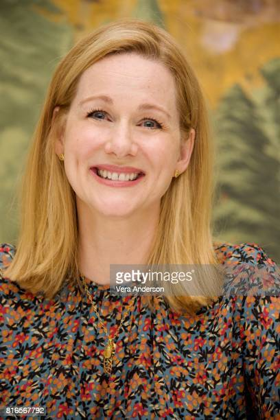Laura Linney at the 'Ozark' Press Conference at the London Hotel on July 14 2017 in New York City
