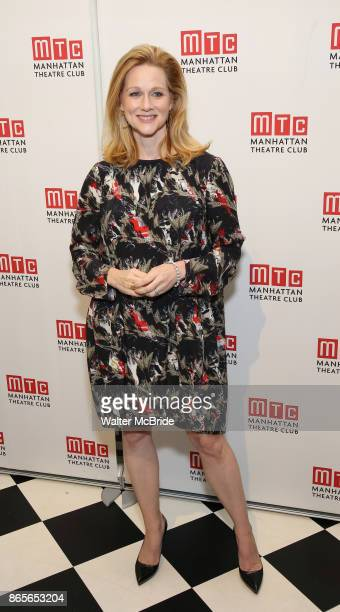 Laura Linney attends the 2017 Manhattan Theatre Club Fall Benefit honoring Hal Prince on October 23 2017 at 583 Park Avenue in New York City