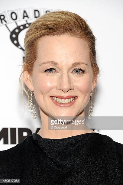Laura Linney attends the 'Mr Holmes' New York Premiere at the Museum of Modern Art on July 13 2015 in New York City