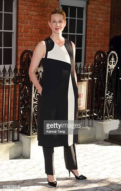 Laura Linney attends the UK Premiere of 'Mr Holmes' at ODEON Kensington on June 10 2015 in London England