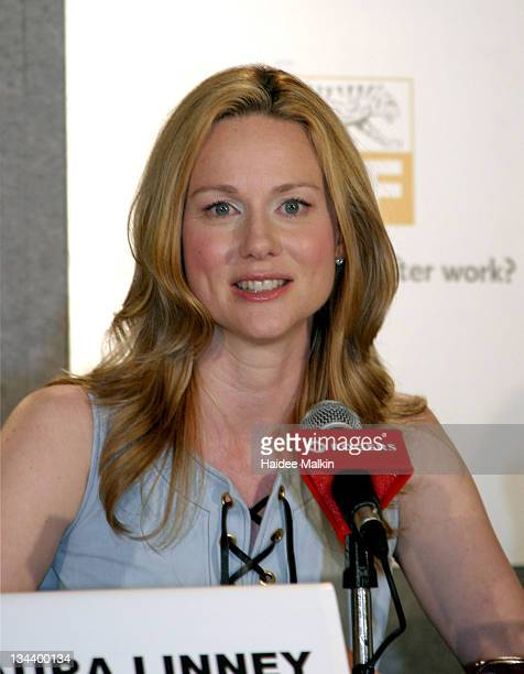 Laura Linney during 2004 Toronto International Film Festival 'Kinsey' Press Conference at Four Seasons in Toronto Ontario Canada