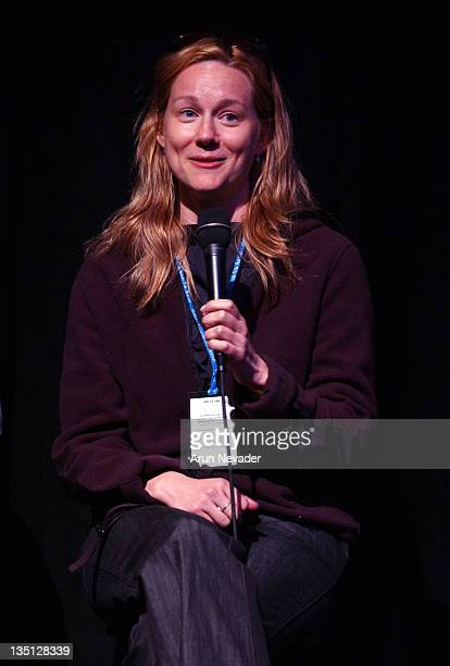 Laura Linney during 31st Telluride Film Festival Laura Linney in Q and A for 'Kinsey' at The Courthouse in Telluride Colorado United States