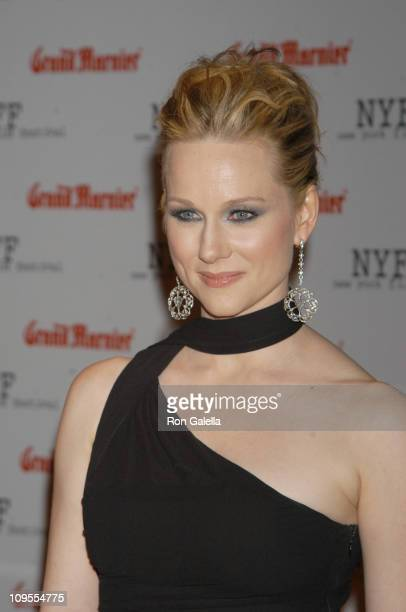 Laura Linney during Opening of the 41st New York Film Festival Sponsored by Grand Marnier 'Mystic River' Premiere at Avery Fisher Hall Lincoln Center...