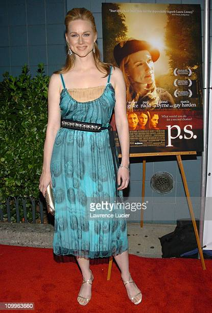 Laura Linney during PS New York Premiere at Clearview Chelsea West in New York City New York United States