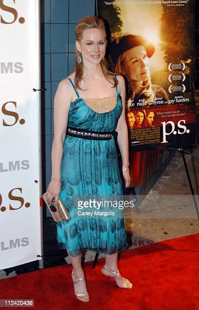 Laura Linney during 'PS' New York Premiere at Clearview Chelsea West in New York City New York United States