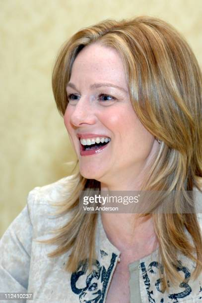 Laura Linney during 'The Squid and The Whale' Press Conference with Laura Linney Jeff Daniels Jesse Eisenberg and Noah Baumbach at Le Meridian in...