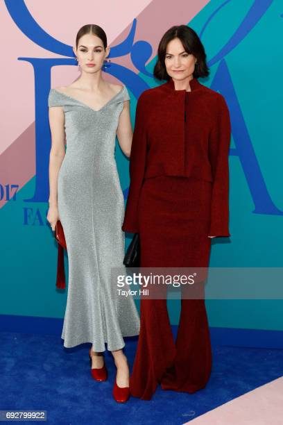 Laura Love and Rosetta Getty attend the 2017 CFDA Fashion Awards at Hammerstein Ballroom on June 5 2017 in New York City
