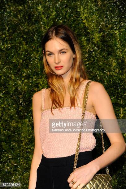 Laura Love attends the 2017 Tribeca Film Festival Chanel Artists Dinner on April 24 2017 in New York City