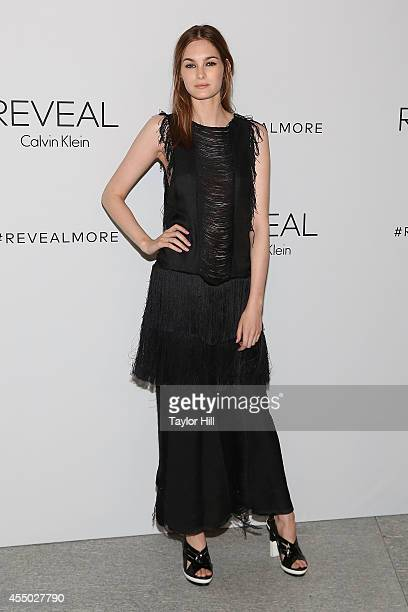 Laura Love attends the REVEAL Calvin Klein Fragrance Launch Party at 4 World Trade Center on September 8 2014 in New York City