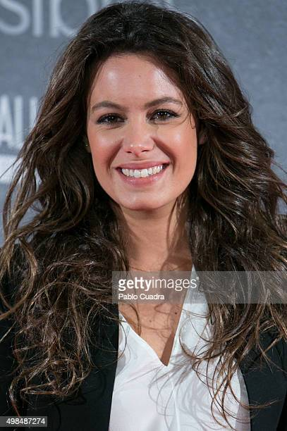 Laura Madrueno attends 'Invisibles' charity premiere at the Callao City Lights Cinema on November 23 2015 in Madrid Spain