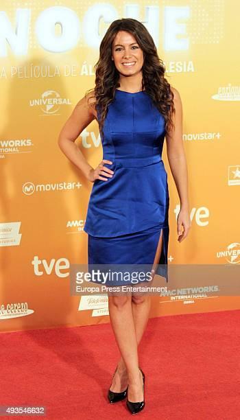 Laura Madrueno attends 'Mi Gran Noche' premiere at Kinepolis cinema on October 20 2015 in Madrid Spain