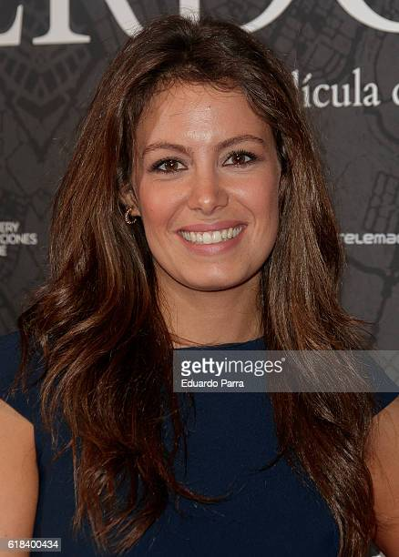 Laura Madrueno attends the 'Que Dios nos perdone' photocall at Capitol cinema on October 26 2016 in Madrid Spain