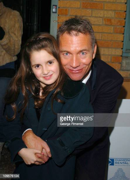 Laura Marano and John Maybury during 2005 Sundance Film Festival 'The Jacket' Premiere After Party at Yoga Studio in Park City Utah United States