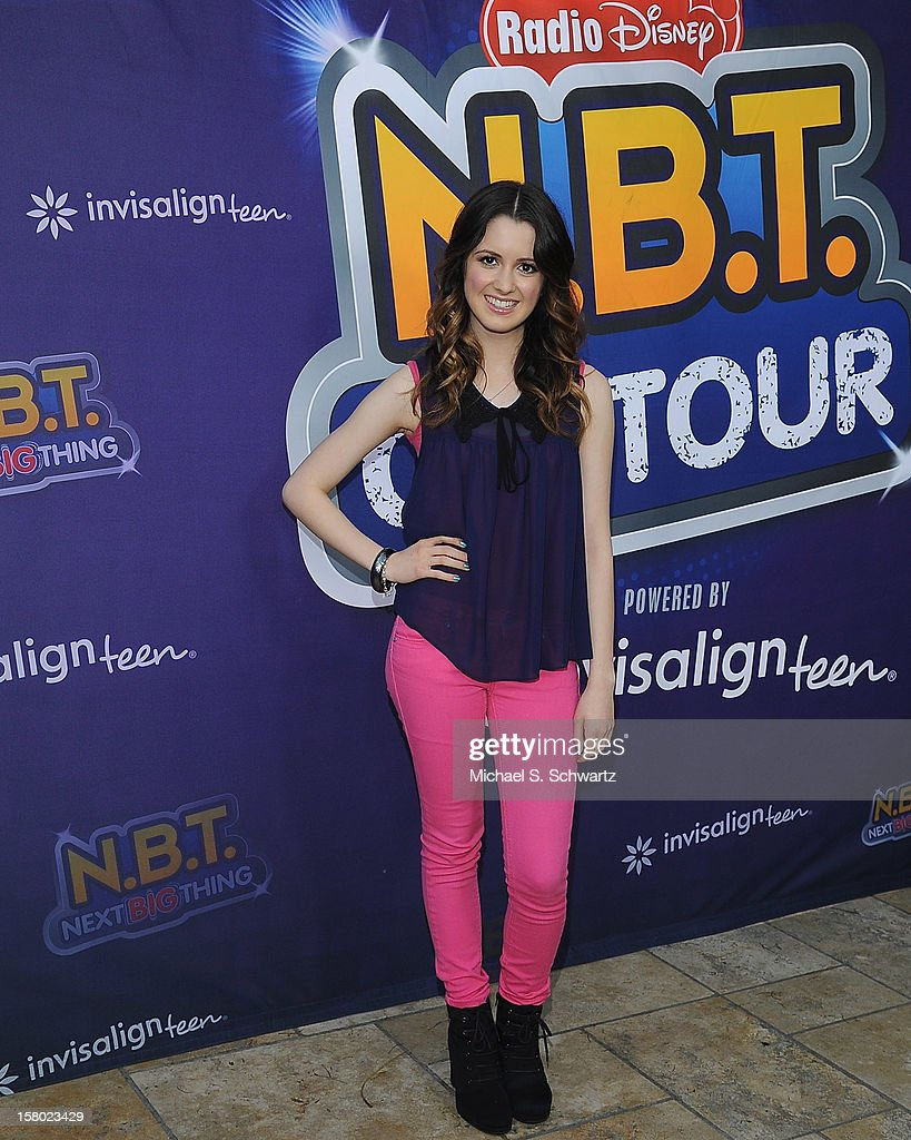 Laura Marano arrives at the Radio Disney's 'N.B.T.' (Next BIG Thing) Season 5 winner and finale event at The Americana at Brand on December 8, 2012 in Glendale, California.