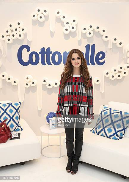 Laura Marano attends day two of Beauty Bar Presented by Cottonelle on September 9 2016 in New York City