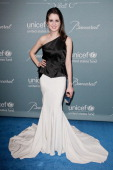 Laura Marano attends the 2014 UNICEF ball presented by Baccarat at Regent Beverly Wilshire Hotel on January 14 2014 in Beverly Hills California