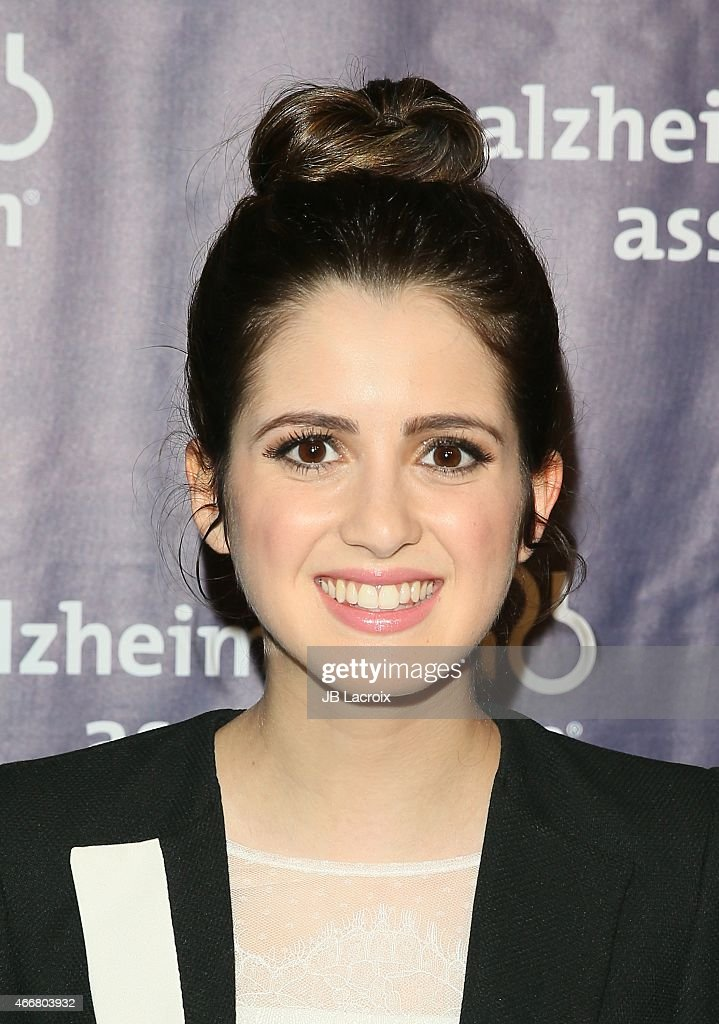 Laura Marano attends the 23rd Annual 'A Night At Sardi's' To Benefit The Alzheimer's Association at The Beverly Hilton Hotel on March 18, 2015 in Beverly Hills, California.
